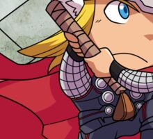 Norse God of Thunder Sticker