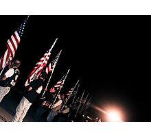 Patriot Guard Riders Photographic Print