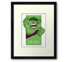 The Incredible Big Green Thing Framed Print