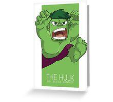The Incredible Big Green Thing Greeting Card