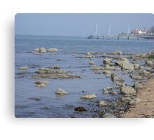 county down coast Canvas Print