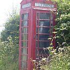 old british telephone box by caroline1983