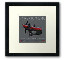 Hyperion SMG Framed Print