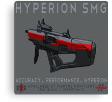 Hyperion SMG Canvas Print