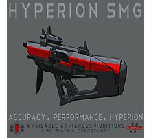 Hyperion SMG Photographic Print