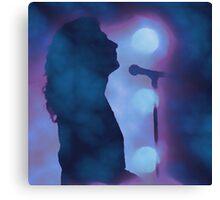 Robert Plant on Stage Canvas Print