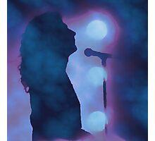 Robert Plant on Stage Photographic Print