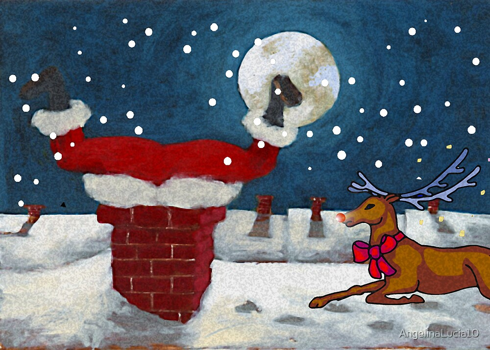 No More Cookies for Santa by AngelinaLucia10