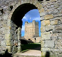 Richmond Castle by Oz Foster