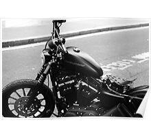 Black Harley Poster