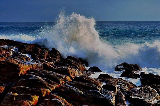 Wyadup Wave Crash by Miles Moody