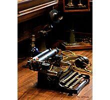 Communication Station Photographic Print
