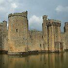 Bodiam Castle by Dave Godden