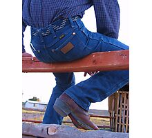 Cowboy's Brand Photographic Print