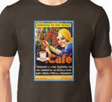 Campanha Da Boa Bebida Coffee Vintage Ad Poster Unisex T-Shirt