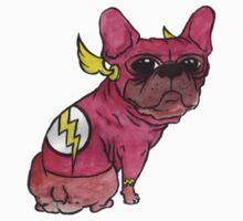Superhero x French Bulldog 9 of 10 series 1 Kids Tee