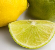 Lemon & Lime by Lynne Morris