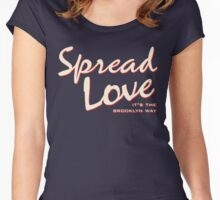 Spread Love Women's Fitted Scoop T-Shirt