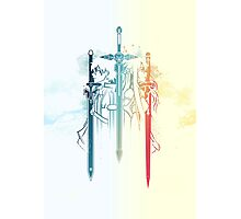 Sword Art Duo Photographic Print