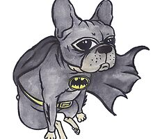 Superhero x French Bulldog 7 of 10 series 1 by Liddle-Ideas