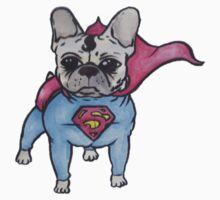 Superhero x French Bulldog 8 of 10 series 1 Baby Tee