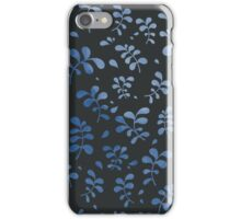 Natural seamless pattern/ With leaves red vector illustration iPhone Case/Skin
