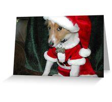 Santa Panchita Greeting Card