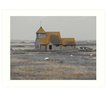 Fairfield Church, Romney Marsh Art Print