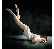 Falling Asleep Photographic Print