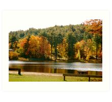 Crystal Lake in the Fall Art Print