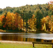 Crystal Lake in the Fall by Kristen Thiess