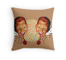 """Sweet Tooth"" Throw Pillow"