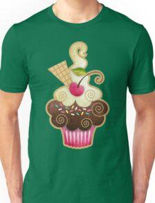 Scrumptious Cupcake Unisex T-Shirt