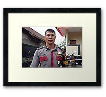 Tourist Police Framed Print