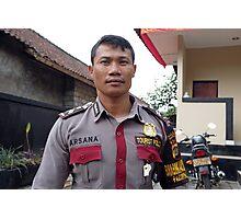 Tourist Police Photographic Print