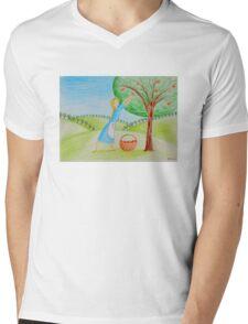 Apple harvest Mens V-Neck T-Shirt