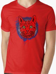 Kitty! Mens V-Neck T-Shirt