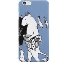Bull Terrier Laundry iPhone Case/Skin