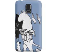Bull Terrier Laundry Samsung Galaxy Case/Skin