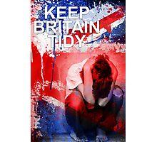 Keep Britain Tidy Photographic Print