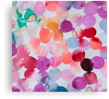 Multicolor Colorfull Pattern Canvas Print