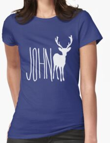 John Doe Womens Fitted T-Shirt
