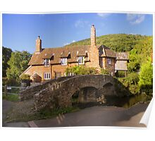 Exmoor: Packhorse Bridge at Allerford Poster