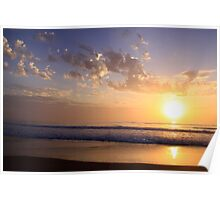Dawn Breaking 2 -Back Beach NSW Poster