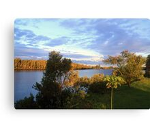 Manning River Afternoon Canvas Print