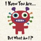 I know you are but what am I? by Andi Bird