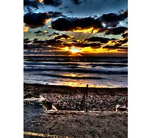 Surf's up Bude Photographic Print
