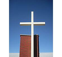 Religious cross Photographic Print