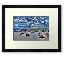Bridlington at low tide 2 Framed Print