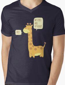 Giraffe Problems! Mens V-Neck T-Shirt